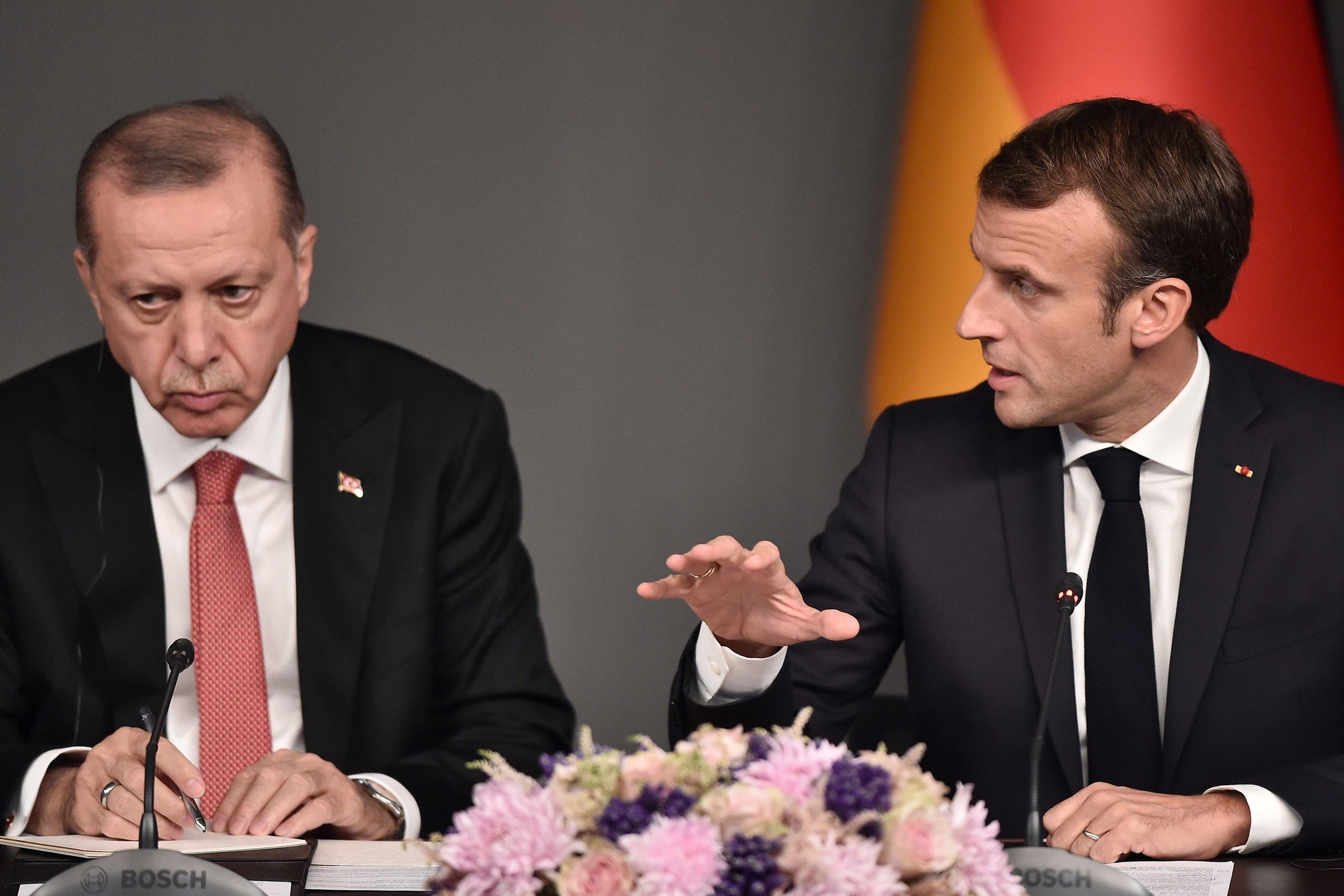 أردوغان ومكرون