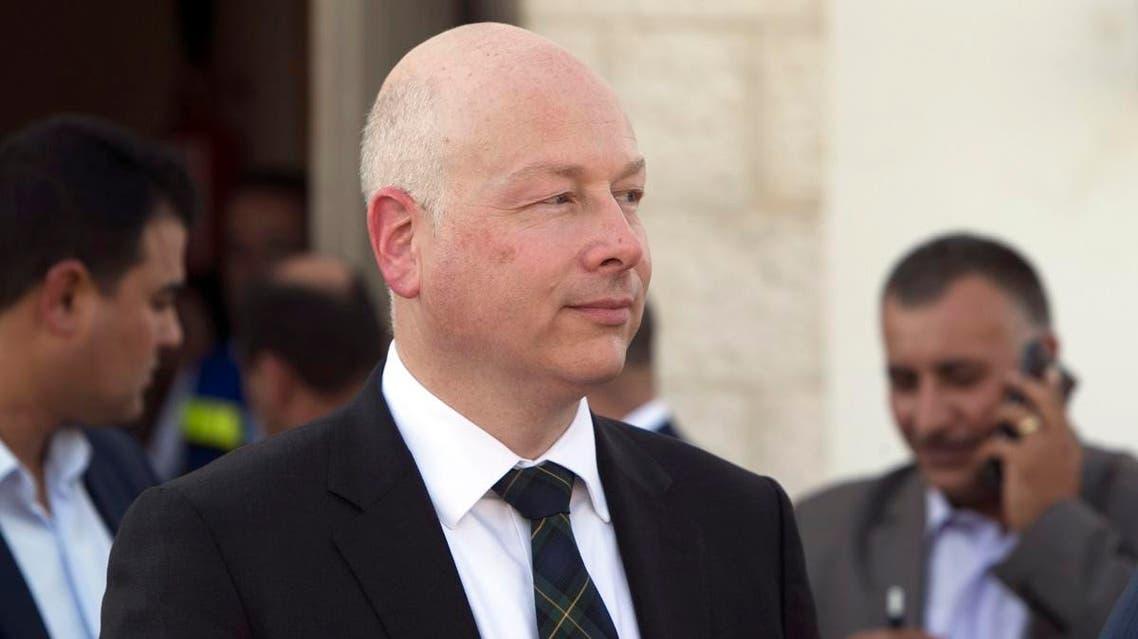 US special envoy Jason Greenblatt. (AFP)
