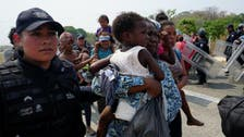 Mexico detains 45,000 migrants in two months