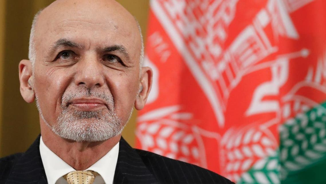Afghan President Ashraf Ghani attends a UN debate on performance of his country's private sector during the Geneva Conference on Afghanistan on November 27, 2018 in Geneva.