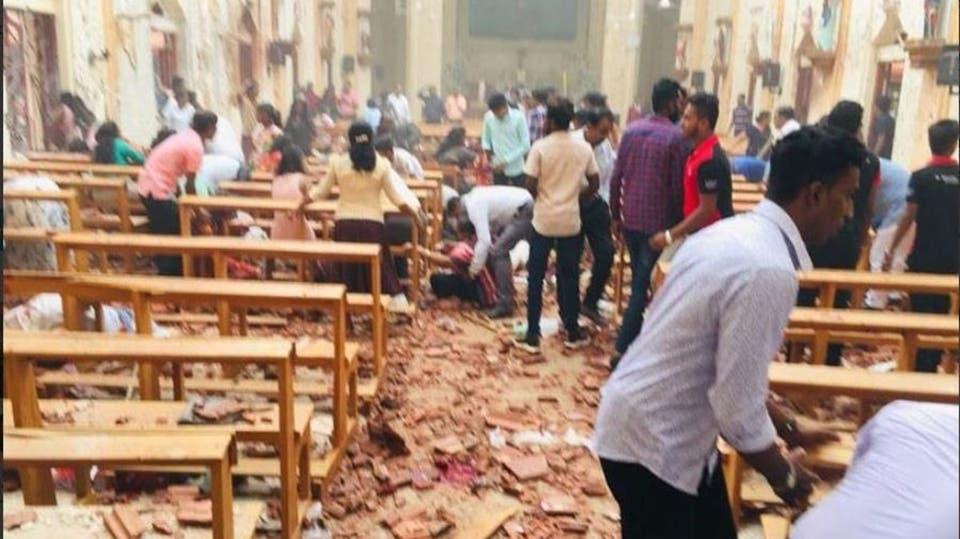 نتيجة بحث الصور عن تفجيرات سريلانكا