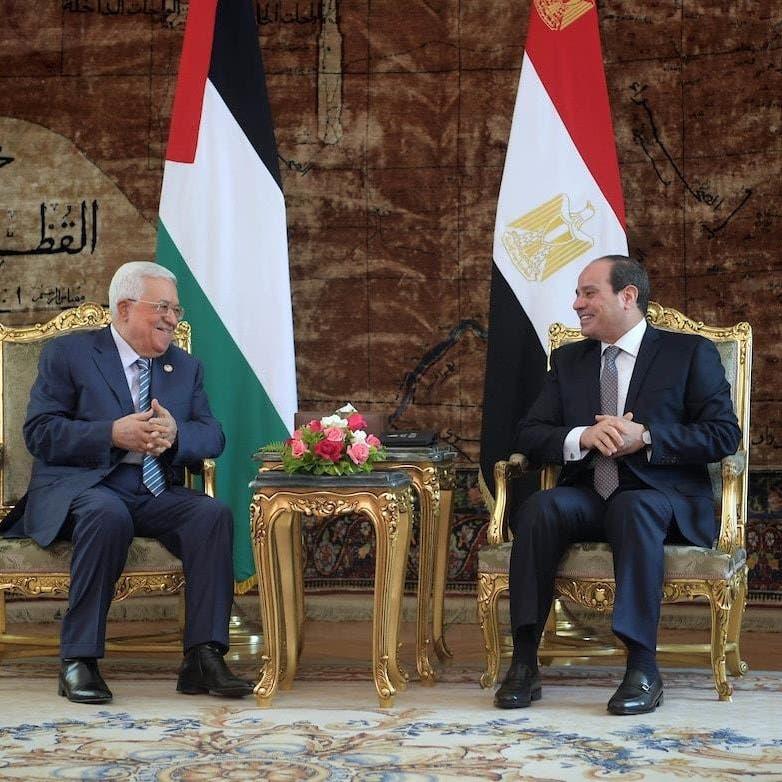 السيسي لعباس: مصر تدعم الحل العادل والشامل للقضية الفلسطينية