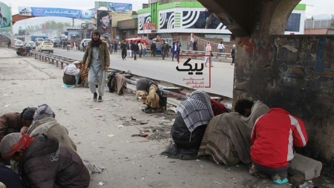 سیلاب ها با معتادان «پٌل سوخته» شهر کابل چه کرد؟