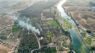 بالصور.. هكذا حولت مدينة سعودية واديها إلى نهر جارٍ