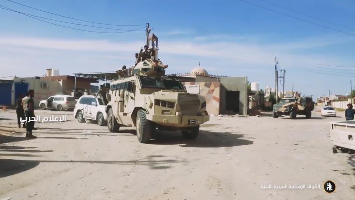 الجيش الليبي على بعد 10 كلم من طرابلس