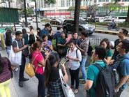 مصرع 5 أشخاص في انهيار مبنيين في زلزال ضرب الفلبين