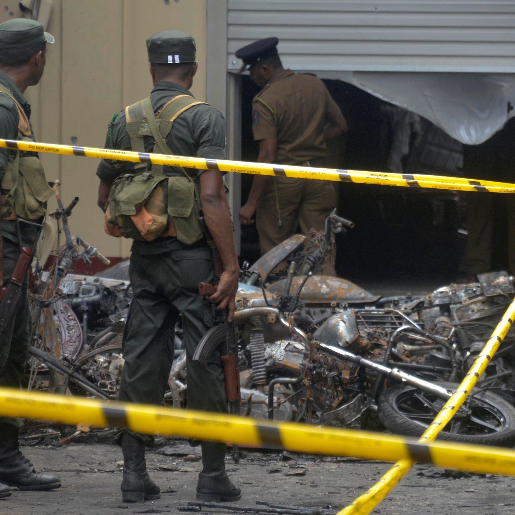 مسؤول سريلانكي: 7 انتحاريين نفذوا 6 من الهجمات