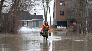 فيضانات بشرق كندا والجيش يقدم مساعدة لحكومتي مقاطعتين