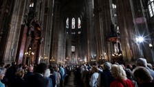 Paris Easter Mass honors firefighters who saved Notre-Dame