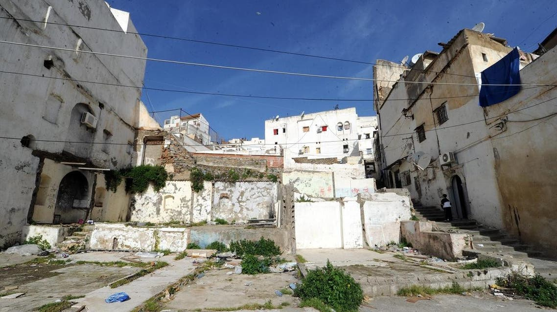 A picture taken on March 22, 2013 shows houses in the Kasbah of Algerian capital, Algiers. The Kasbah is a Unesco World Heritage site. (AFP)