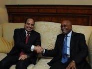 السيسي يبحث مع رئيس جنوب إفريقيا الأوضاع بليبيا والسودان