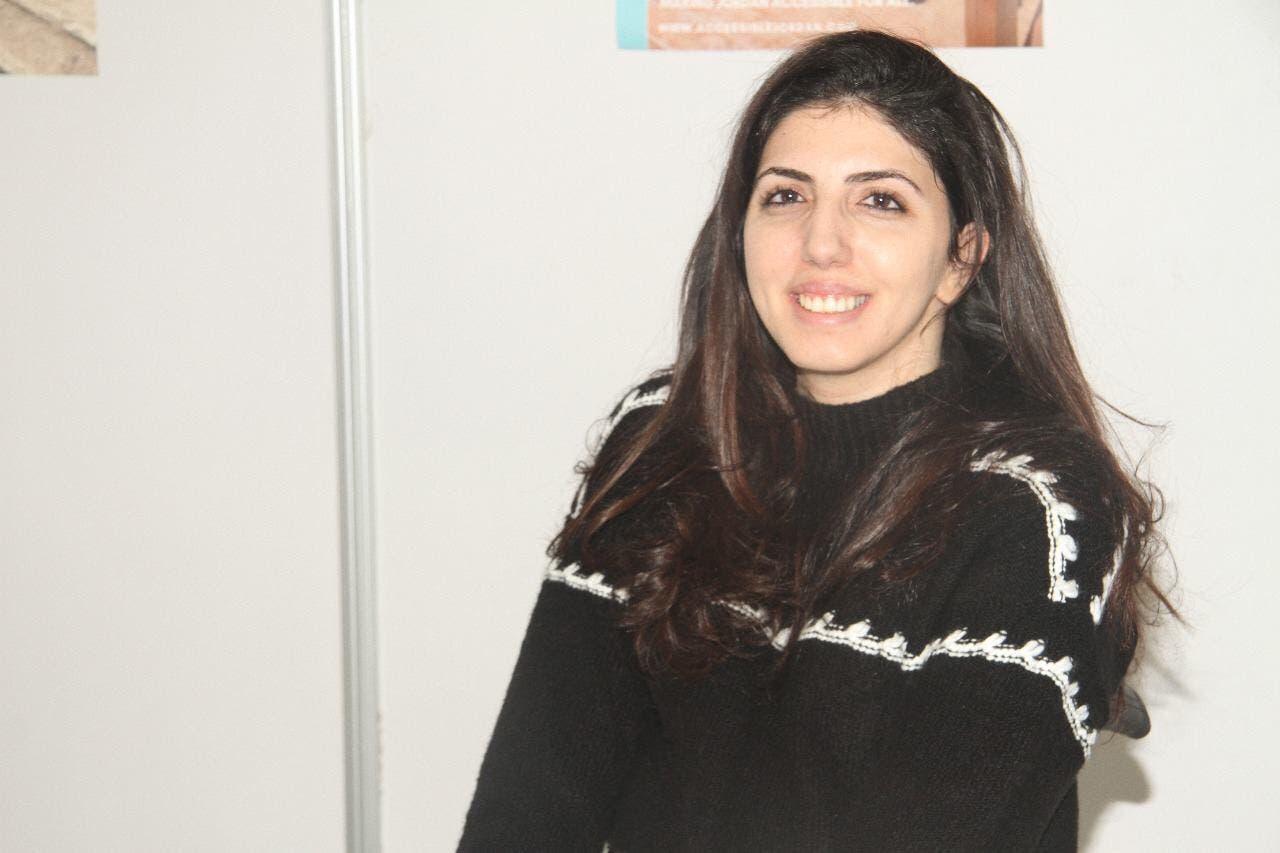 Jordanian activist Aya Aghabi