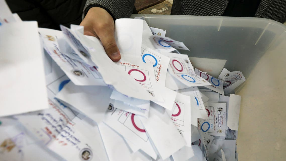 مصر.. انتهاء التصويت على التعديلات الدستورية وبدء الفرز