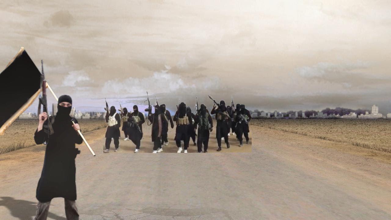 عناصر من داعش في البادية السورية (أرشيفية)