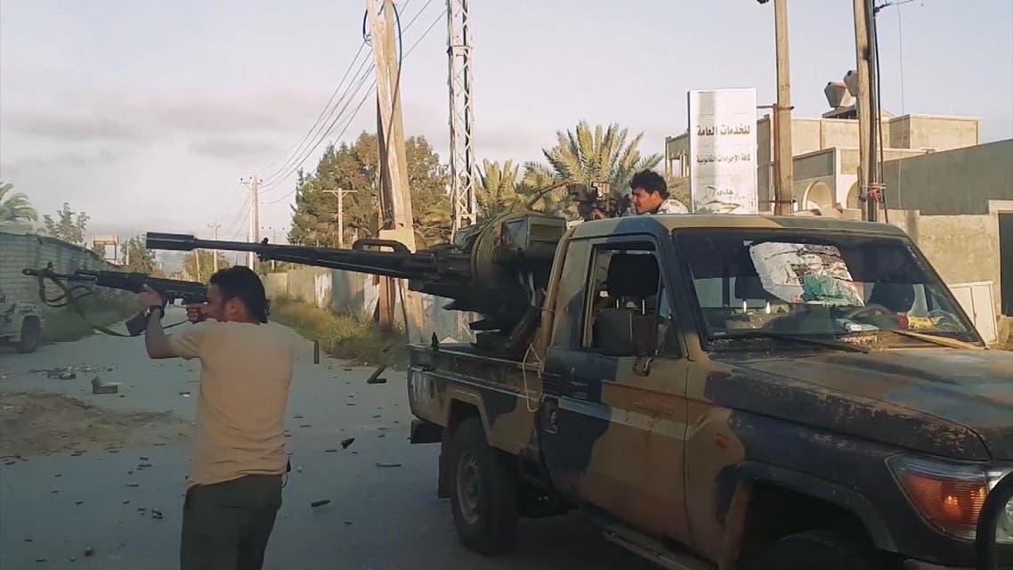 ليبيا.. الجيش يسقط مقاتلة ثانية لقوات الوفاق