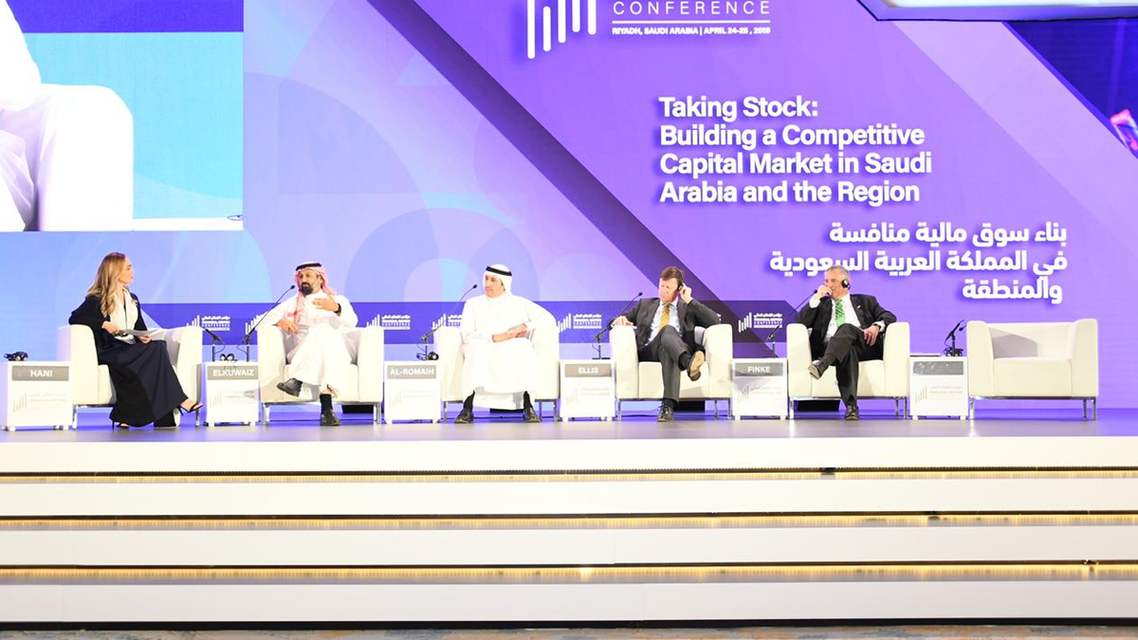 Financial Sector Conference in Riyadh. (Photo courtesy: @SaudiFSC Twitter)