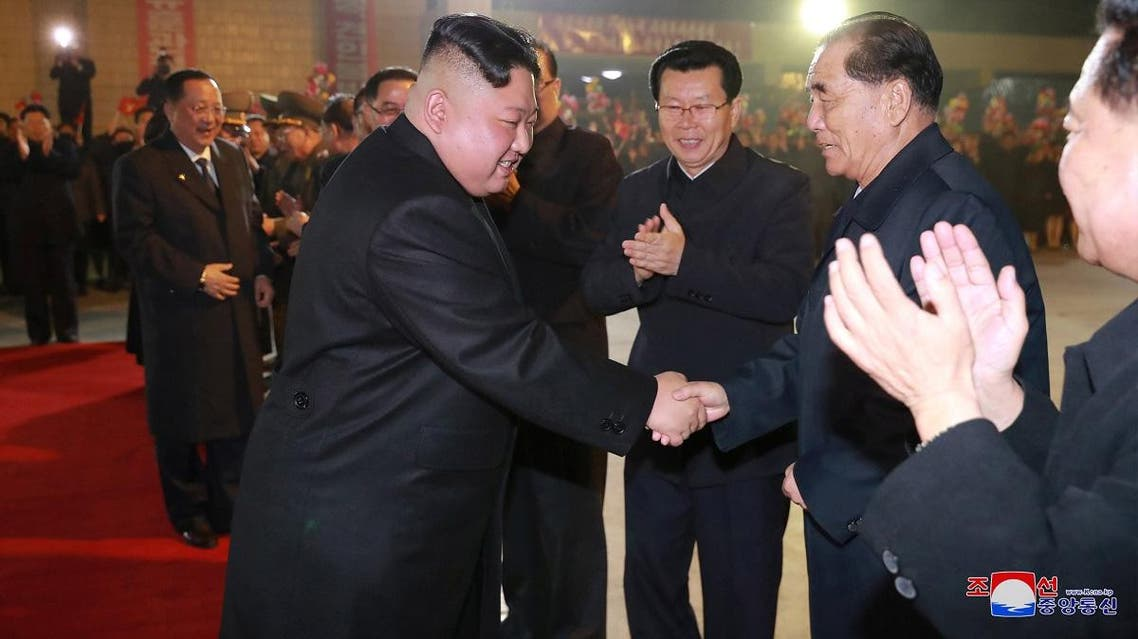 North Korean leader Kim Jong Un departs to visit Russia at undisclosed location in this undated photo released on April 23, 2019 by North Korea's Central News Agency (KCNA). (Reuters)