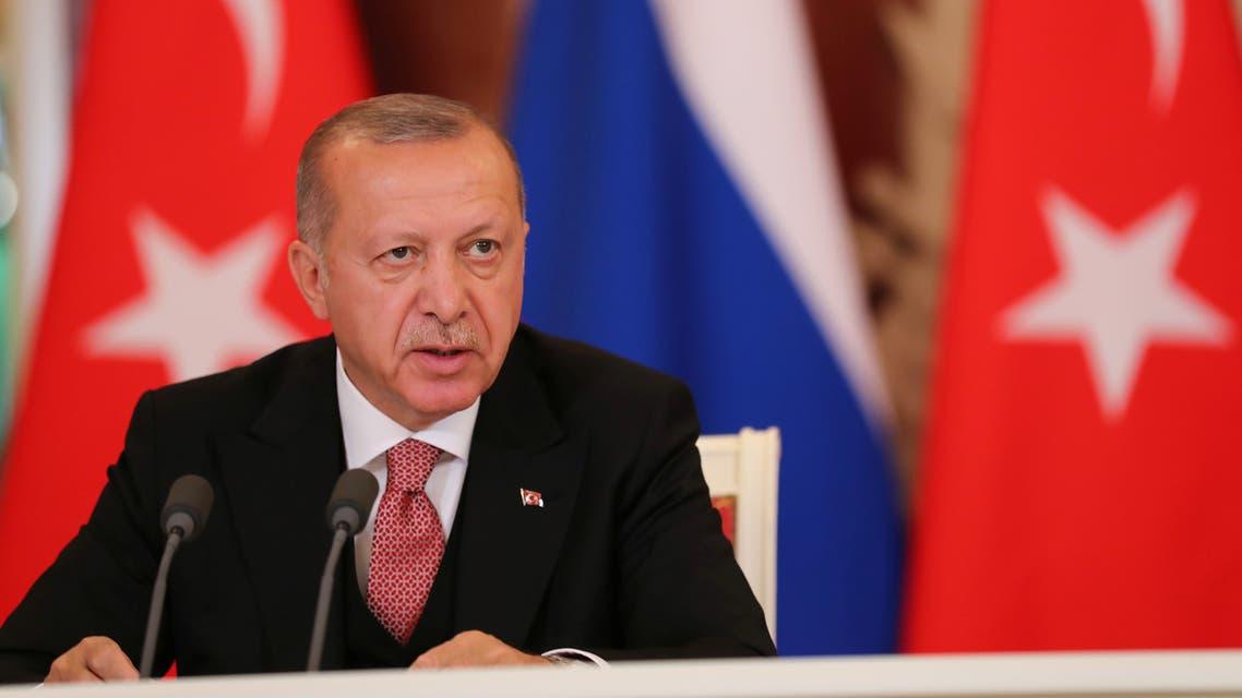 أردوغان ( رويترز)