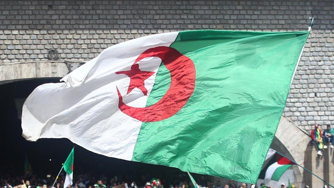 Algeria flag - AFP