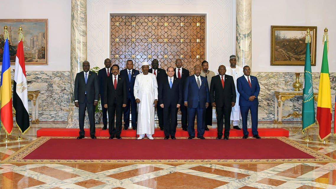 القمة الإفريقية في القاهرة