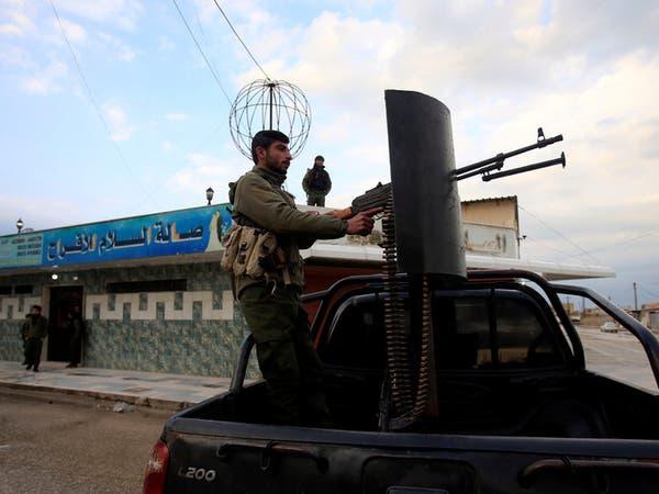 """قوات تركية """"تمطر"""" مواقع الأكراد شمال حلب"""