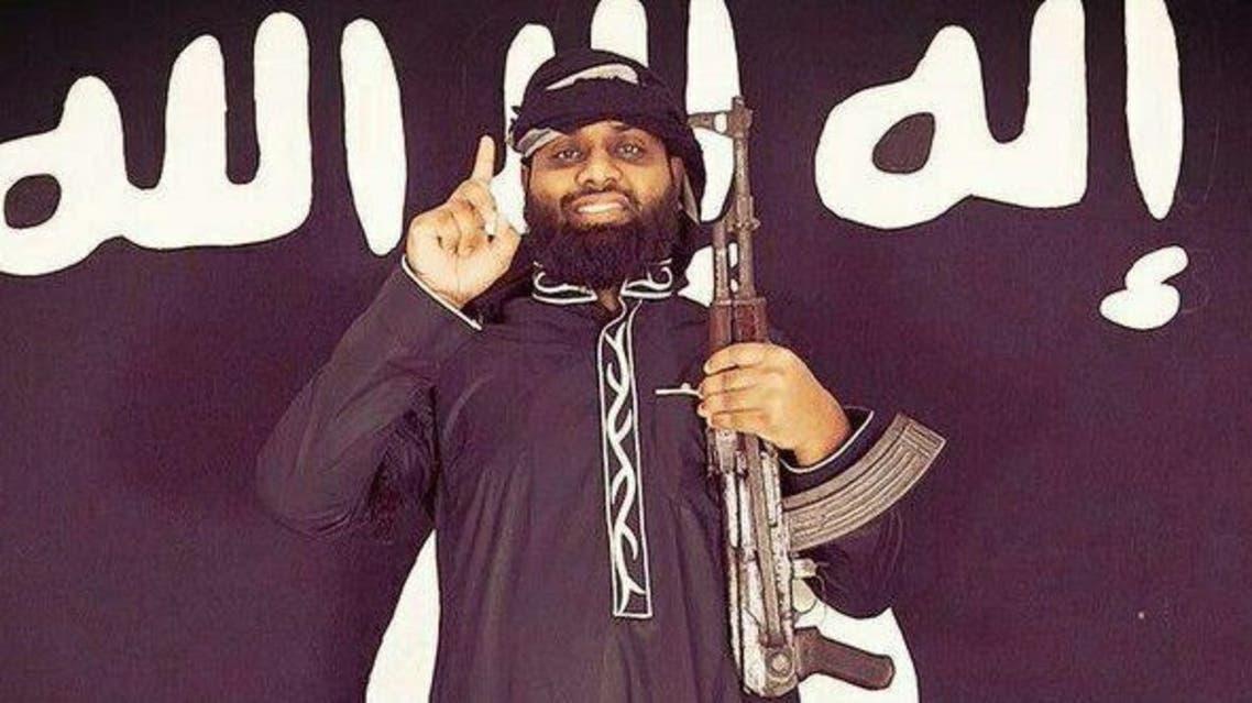 صورة نشرتها مواقع تابعة لداعش لأحد منفذي هجمات سريلانكا