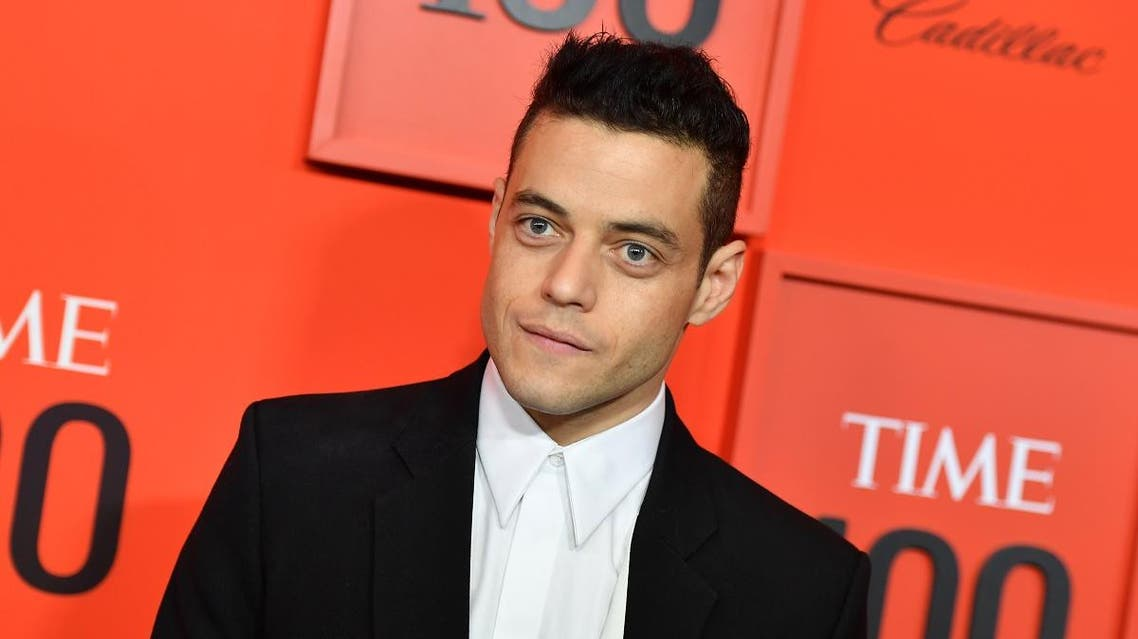 US actor Rami Malek arrives on the red carpet for the Time 100 Gala at the Lincoln Center in New York on April 23, 2019. (AFP)