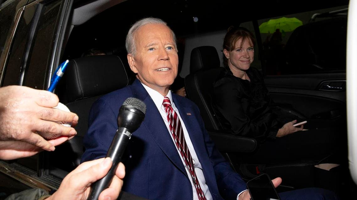 "Former Vice President and Democratic presidential candidate Joe Biden is shown after appearing on ABC's ""The View"" in New York. (AP)"
