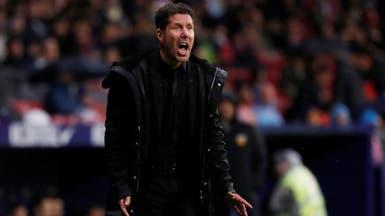 سيميوني يتغزل في برشلونة ويصفه بالفريق الاستثنائي