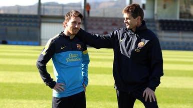 قبل وفاته بـ 6 أيام.. فيلانوفا أقنع ميسي بعدم الرحيل عن برشلونة