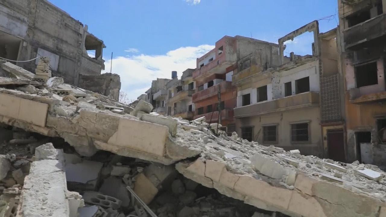 دمار في سوريا - أرشيفية
