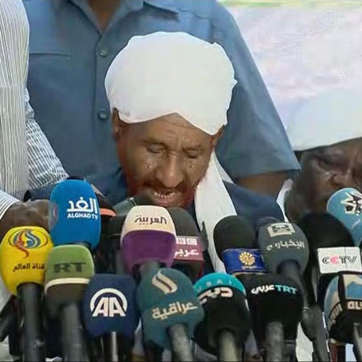 الصادق المهدي: الجيش حمى السودانيين من المشروع الدموي