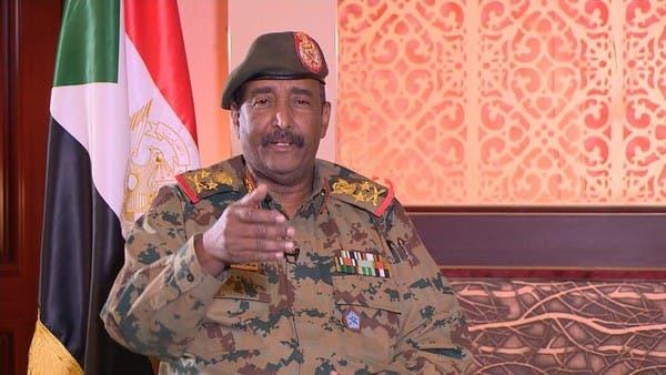 البرهان: المجلس السوداني حريص على نقل السلطة