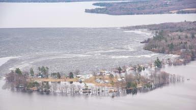 مخاوف متزايدة من فيضانات كندا.. ومونتريال تعلن الطوارئ