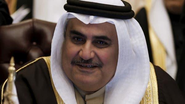 وزير خارجية البحرين عن الصدر: أعان الله العراق عليه!