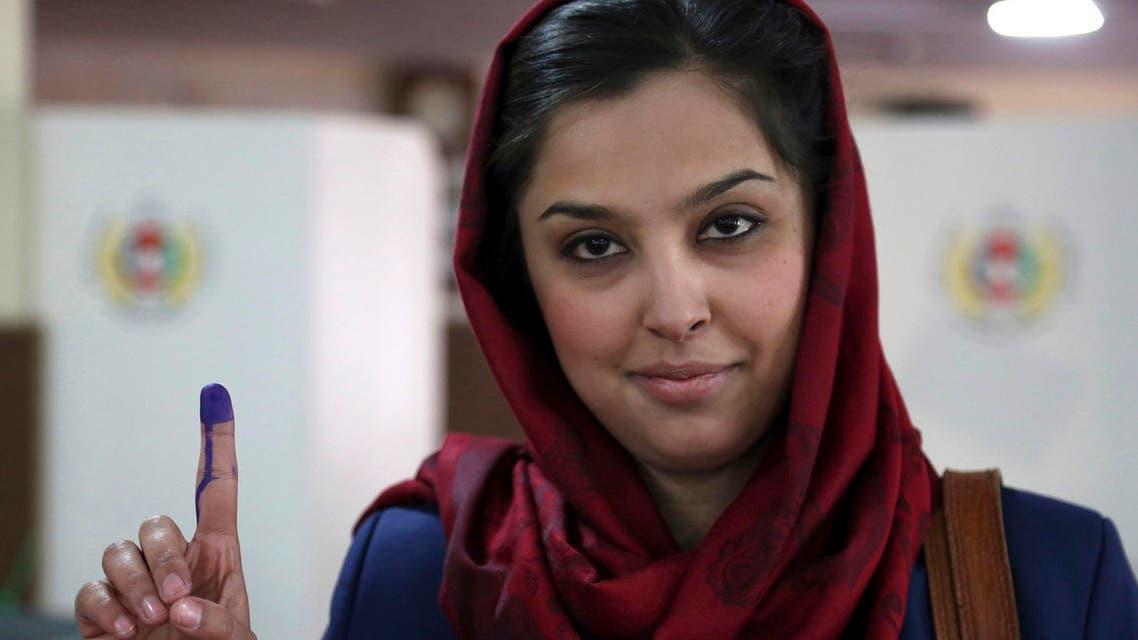 Afghan women AP