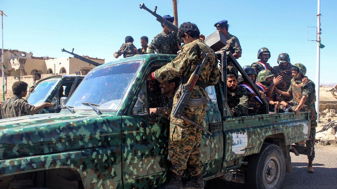 عناصر من الجيش اليمني
