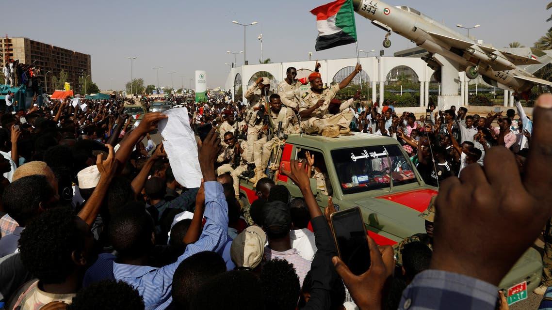تظاهرات في الخرطوم (26 أبريل)