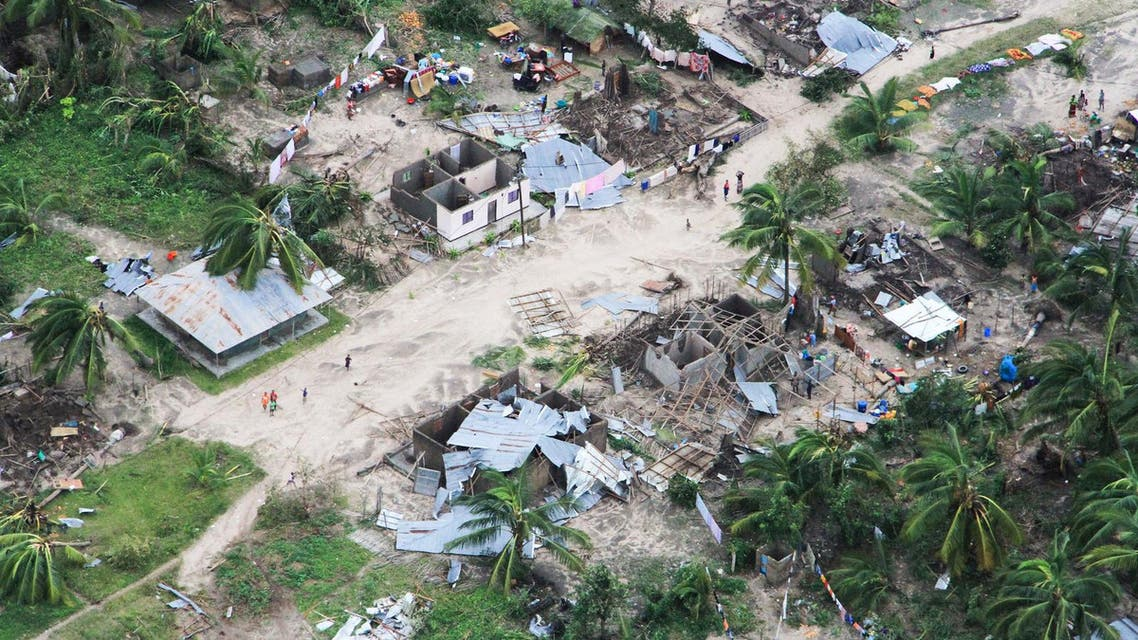 Mozambique cyclone AFP