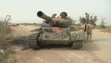 """الجيش الليبي يتقدم إلى قلب طرابلس.. ومقتل """"شريخان"""""""