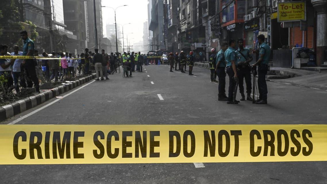 Bangladesh police - AFP