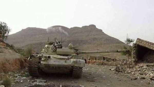 فيديو.. الجيش اليمني يتقدم في معقل الحوثيين