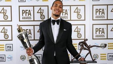"""فان ديك يفوز بجائزة أفضل لاعب في الموسم لـ""""رابطة اللاعبين المحترفين"""""""
