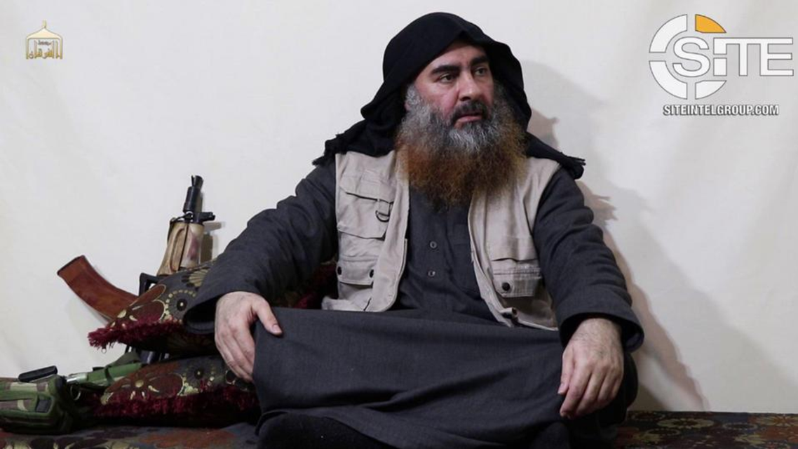 abu bakr al-baghdadi. (Supplied)