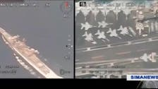 Iran drone video of American carrier appears 'years old,' according to US Navy