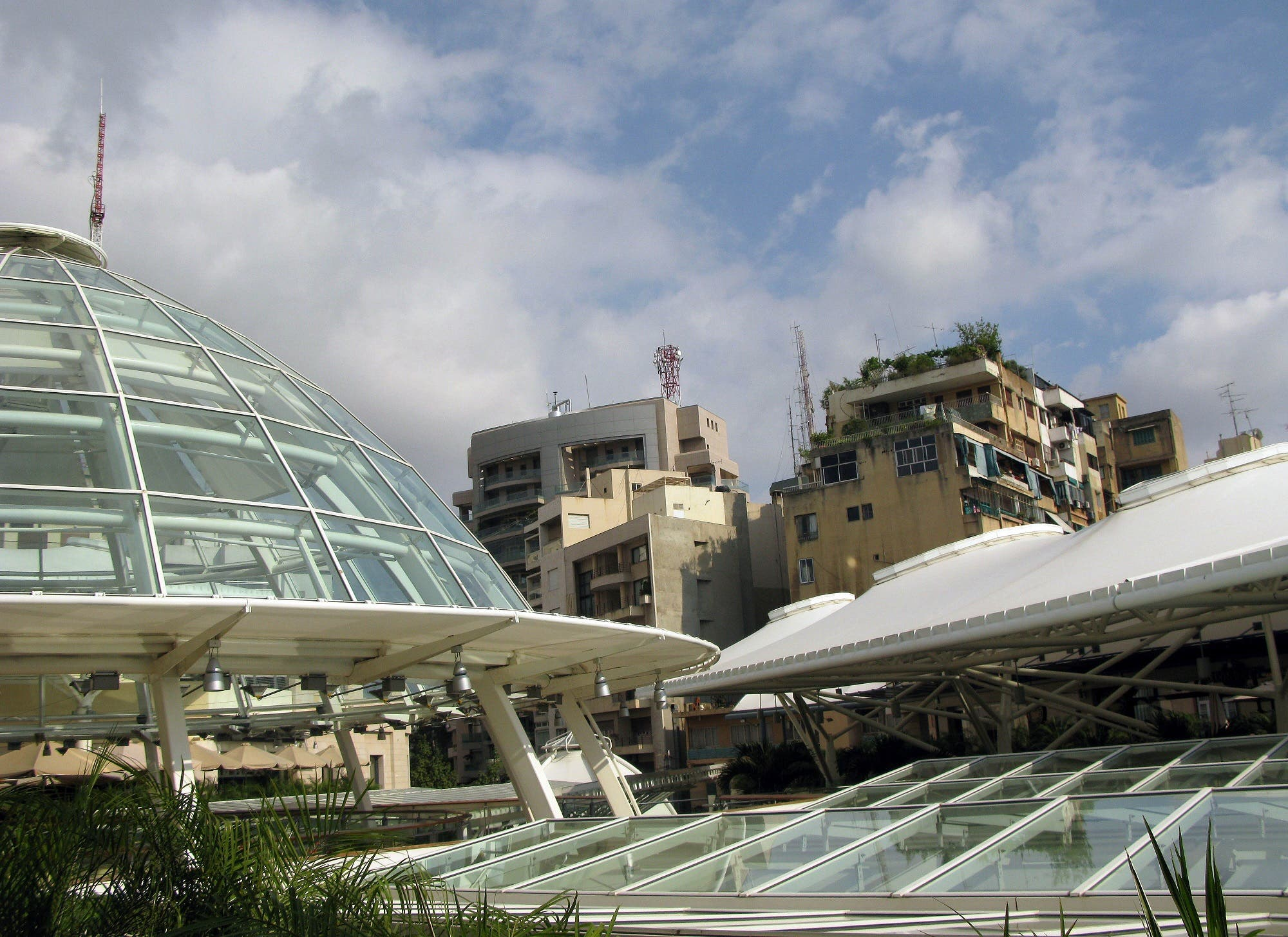A view of Beirut's ABC main commercial mall. (File photo: AFP)