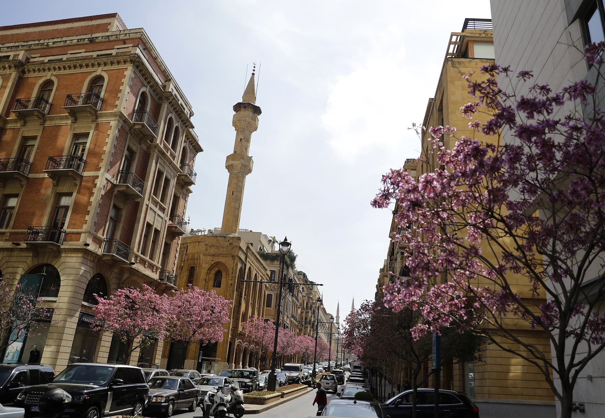 Downtown Beirut, Lebanon - AFP
