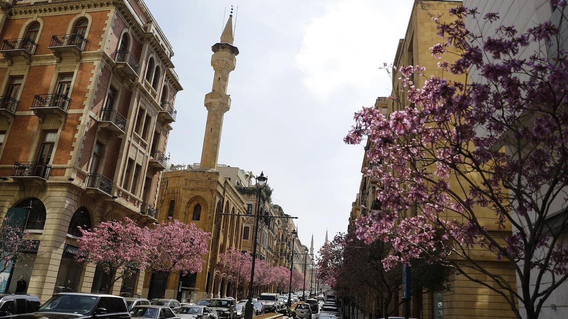 Downtown Beirut, Lebanon - AFP