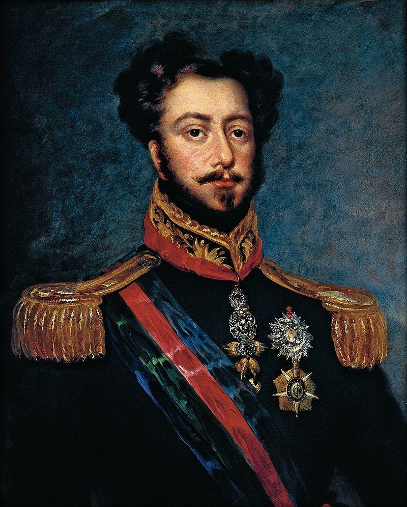 صورة لإمبراطور البرازيل بيدرو الأول
