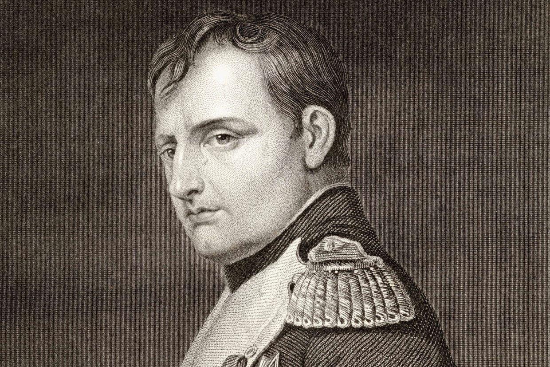 صورة للإمبراطور الفرنسي نابليون بونابرت